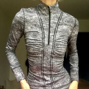 Lululemon Cypress Kiss 1/2 Zip Running Top